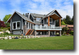 British Columbia Waterfront 1 Acres Unbeatable waterfront location and home!