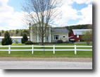 New York Farm Land 12 Acres House in Angelica NY Large Barn Financing