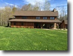 New York Hunting Land 87 Acres Fully Furnished Lodge near Chautauqua Lake
