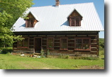 New York Farm Land 95 Acres Handhewn Log Home;Post&Beam Bldg- optional