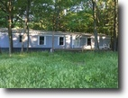 Michigan Land 1 Acres Great starter home! Secluded in the woods!