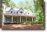 Georgia Land 5 Acres Remodeled Country 3BR Estate