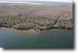 Michigan Waterfront 25 Acres 21113 Point Abbaye Rd, MLS# 1095968