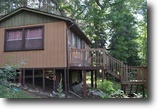 Northwoods Escape!  Rustic Cabin 2.6 Acres