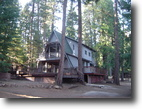 California Farm Land 6 Acres Horse Property, Home & Barn in the Pines