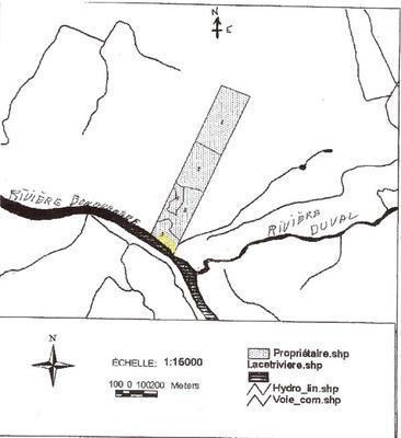 land registered plat map, overview quebec