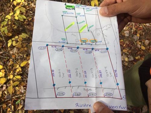 surveyor plat map, now registered quebec