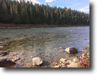 Quebec Waterfront 2 Acres Famous Salmon Fishing River Front 1.73 ac.