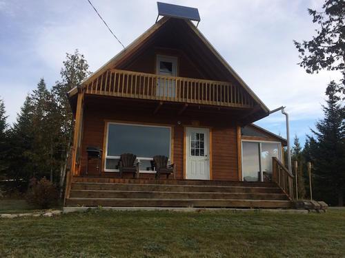 2nd cottage on land road quebec