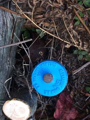 land survey marker quebec