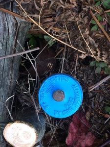 Land survey marker