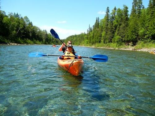 kayaking the bonaventure river quebec