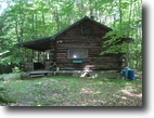 Log Cabin 27 Acres borders Cornell Land NY