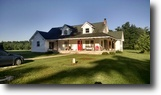 Parke County IN Home & Barn on 5 acres