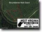 West Virginia Land 16 Acres 0 Route 16 Clay  MLS 102943