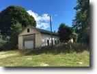 Michigan Land 2 Acres Commercial building and home for sale!!