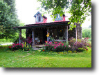 Historic 1830's Cabin  with 66 Plus Acres!