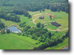 Farm, 8 year old LOG CABIN acreage.
