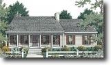 Georgia Land 5 Acres Split Bedroom Plan, 1 Story Ranch