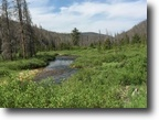 Colorado Farm Land 40 Acres 40 ac. Colorado Gold Mining Claim w/Creek