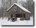 42 acres Cabin Camden NY borders State