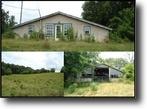 Tennessee Farm Land 64 Acres 64.25 Ac on W/Home Gooseneck Lane