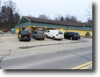 New York Land 1 Acres Grocery Store on Main St. in Angelica NY