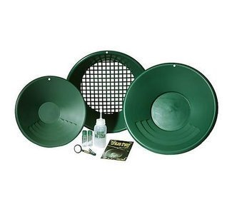 Free Panning Kit if purchase as a 40 acre claim.