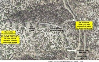 Satellite view Camping Area.
