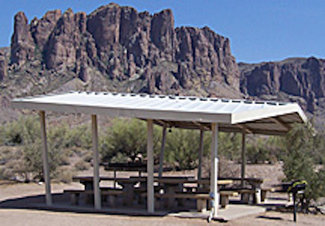 Or camp at nearby Lost Dutchman State Park