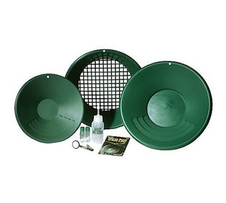 Free Gold Panning Kit when purchase as a 40 acre claim