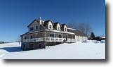 New York Farm Land 97 Acres Contemporary Home Barns near Binghamton NY