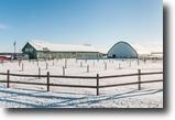 Quebec Ranch Land 308 Square Feet Magnifique centre équestre avec loft à Con