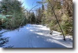 Ontario Waterfront 10 Acres Vacant Lot with 300' on Papineau Creek