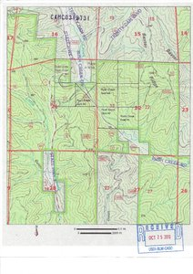 BLM registered map. Scroll down left side of listing for larger pdf file map