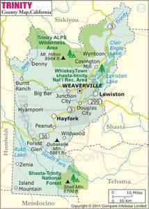 Claim area map