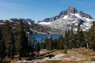 Rush Creek Lake views