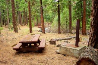 Nearby Rush Creek Campground on Rush Creek