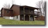 21 acres Log Sided House near Cortland NY