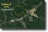 133+/- Acres w/700+/- ft. of Frontage
