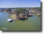 Georgia Waterfront 1 Acres Point Lot on Lake Sinclair, 200FT of Water