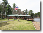New York Hunting Land 25 Acres Waterfront Home & Cabin on Gifford Lake NY