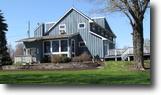 New York Farm Land 30 Acres Contemporary Home Harvey Hill Cortland NY