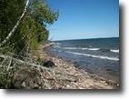 Michigan Waterfront 12 Acres 11517 Liimatainen Rd.  MLS# 1100861
