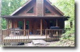 .27 Acres & Log Cabin w/Lake View