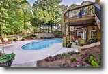 Georgia Land 1 Acres Stunning Custom Home w/ Saltwater Pool