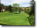 12 acres House with Pond in West Almond NY