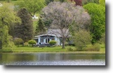 Pennsylvania Land 1 Acres Picturesque Lake Front Home