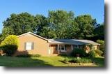 Clean 3 BR/2.5 BA Brick Home on 3+ Acres