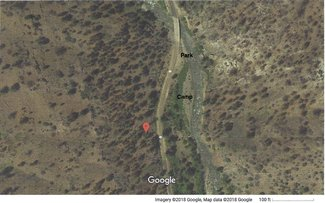 Satellite View: Parking and Camping spot